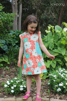 sewpony: Another Miss Polly dress