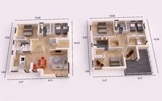 GIRONA DONACASA 200m2 , Hormigón celular con trasdosado tejado inclinado