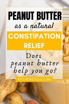 Does peanut butter have fiber that help you poop? How does peanut butter cause constipation? Read this post to know more. The post also discuss about using peanut butter for diarrhea. Foods For Healthy Skin, Most Nutritious Foods, Health Foods, Gut Health, Foods That Help Digestion, Tea For Digestion, Foods For Bloating, Low Fiber Diet, Usda Food