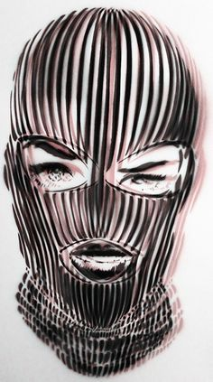 Badwood 3D Ski Mask Art Print, i love bad wood clothing