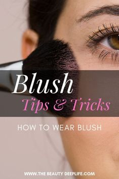 Blush Tips and Tricks: How to Wear Blush for different face shapes. Tips on pic.- Blush Tips and Tricks: How to Wear Blush for different face shapes. Tips on pic… Blush Tips and Tricks: How to Wear Blush for different… - Tips And Tricks, How To Apply Blush, How To Apply Makeup, Blush Makeup, Face Makeup, Blush Tips, Blush Application, Makeup Aisle, Deeper Life