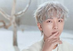 RM (short for Real Me, formerly Rap Monster) is a South Korean rapper-songwriter, composer and produ Namjoon, Taehyung, K Pop, Mixtape, Rapper, Jimin, Rm 1, Mini Photo, Korean Boy Bands