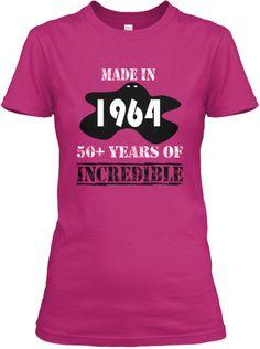 The big 5.0! - Born in 1964? | Teespring