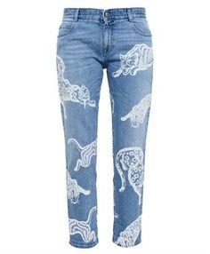 STELLA MCCARTNEY - Wild Cat Jeans