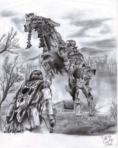 Phaedra-Shadow of the Colossus by synchronetta.deviantart.com on @DeviantArt
