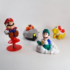 Super Mario Bros McDonald's Happy Meal Toys