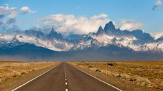 On the road in Patagonia.