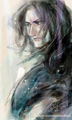 Raven by somachiou.deviantart.com on @deviantART