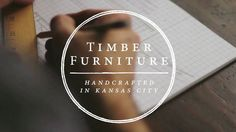 My good friend Adam Magers left his full time job to pursue his passion for woodworking. Earlier this year he started Timber Furniture KC. He is a skilled craftsman… Timber Furniture, My Furniture, Business Video, True North, Carpentry, Handmade Art, My Best Friend, Craftsman, Mini