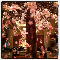 Decorations by @Flower Power Egypt for the Chinese New Year at the @Four Seasons Hotel Cairo at Nile Plaza