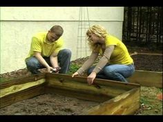 Our @Bonnie Plants DIY page: Super Easy 4 x 8 Raised Bed plants and many more videos