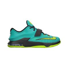 Nike KD 7 Boys' Grade School ($115) ❤ liked on Polyvore featuring shoes, nike, kd, sneakers and kds