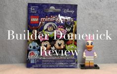 LEGO Daisy Duck Minifigure 71012-9 Disney Series Review