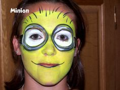 1000 images about face painting ideas on pinterest face paintings minions and despicable me. Black Bedroom Furniture Sets. Home Design Ideas