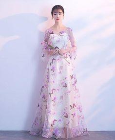 Women S Fashion Leotard Body Top Tulle Prom Dress, Prom Dresses, Formal Dresses, Purple Evening Dress, Evening Dresses, Pretty Dresses, Beautiful Dresses, Fashion Mode, Designer Dresses