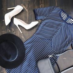 The Brandy Stripe Dress by @sassclothing is one of our everyday staples. Looks great with sneakers for day or heels for a night out. Shop more Sass now.  #sassclothing #shopping #fashion #newarrivals #flatlay #bloggerstyle #inspo #love #ootd #fashionblogger #onlineshop