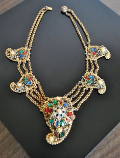 VINTAGE Alexander korda theif  of bagdad  necklace by JBeseda, $465.00