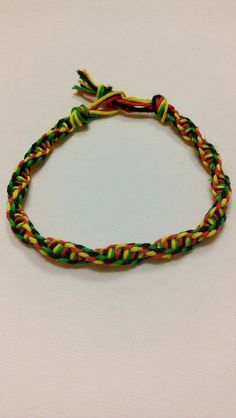 Check out this item in my Etsy shop https://www.etsy.com/listing/215068735/large-size-rasta-inspired-double-helix