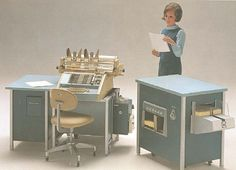 Burroughs Series E 1400 Electronic Computing/Accounting Machine by retro-space, via Flickr