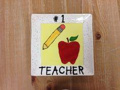 Plate- Great Teacher Gift Idea