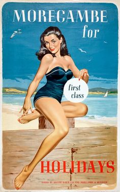 vintage seaside adverts