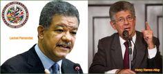 Presidente Parlamento Venezuela cuestiona declaraciones ex presidente Leonel Fernandez