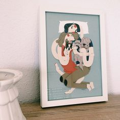 Family Portraits: Paper Illustrations by Jotaká | Inspiration Grid | Design Inspiration