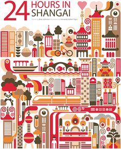 24 horas en Shangai, China