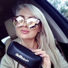 https://www.dollboxx.com.au Who likes our NEW rose gold sunnies??? This style…