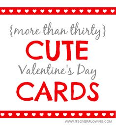 Cute Valentine Card Ideas – 30+