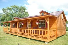 Log cabin kits are great for those who need some help with floor plans and material lists, but still want to have control over the building process.