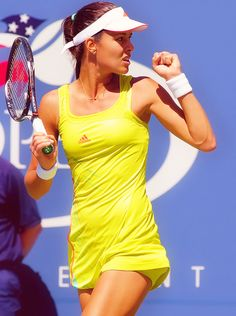 Ana Ivanovic joueuse la plus sexy de 2015 Ana Ivanovic, French Open, Foto Sport, Beatiful People, Professional Tennis Players, Sports Personality, Tennis Players Female, Nfl, Sport Tennis