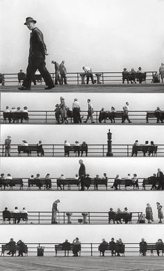 Harold Feinstein - Sheet Music Montage, Coney Island 1950 BRILLIANT!!!