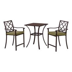 Living Accents Hayward 3 Piece Balcony Bistro Set   All Patio Collections    Ace Hardware