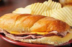 Receita de Pan con jamón em receitas de paes e lanches, veja essa e outras receitas aqui!