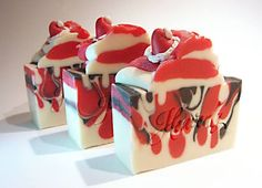 Heavenly Bubbles | Santa Baby Soap Bars  so cute .... scented with peppermint eo