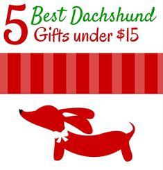 So you want to get your wiener dog-loving neighbor, coworker, party hostess or friend a doxie gift but your budget is tight. We've got you covered with our top 5 inexpensive wiener dog gifts that are as unique as they are useful and thoughtful.