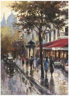 Avenue des Champs-Elysees I Pôsters por Brent Heighton na AllPosters.com.br