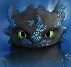 Beautiful ♡ Alpha Toothless ^.^ ♡ - I give good credit to whoever made this