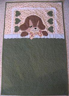 dog sleeping quilt