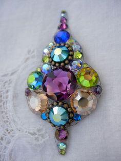 Magnificence Crystal Bindi  swarovski belly dance by KuhlJewels, $38.00