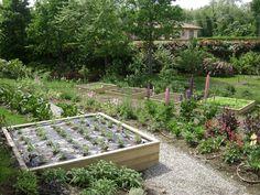 kitchen garden in Italy by F.lli Leonelli