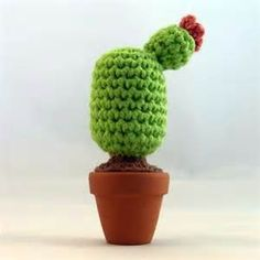 Items similar to Crochet Cactus (Flower) on Etsy