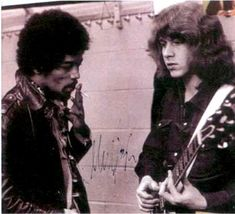 former member rolling stones mick taylor with jimi