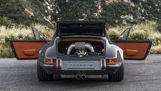 porsche 911 targa 4.0 restored by singer rear engine bay