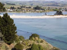 Karitane, NZ. Walk, swim, surf, fish or simply relax in this picturesque village on the coast north of Dunedin.