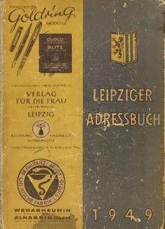 Leipzig/Adressbuch 1949 – GenWiki
