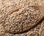 Sesame Seeds / Top 10 Non Dairy Calcium Rich Food - http://www.buildhealthybody.com/top-10-non-dairy-calcium-rich-foods/