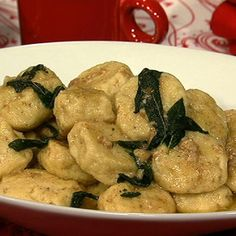 Michael Symon's Gnudi: sounds delicious and rich and I LOVE sage and brown butter sauce.