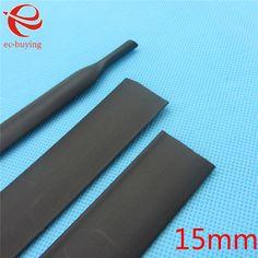 80 Pcs 16 M Chaleur Manche Tube 2:1 Heat Shrink Tube Câble Wire Wrap Kit 6 Tailles